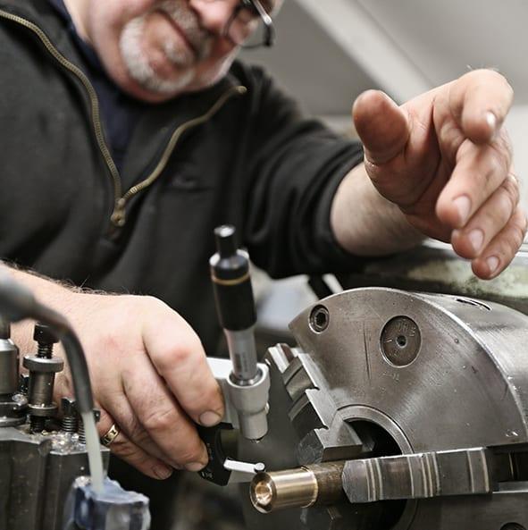 Machining vintage car parts
