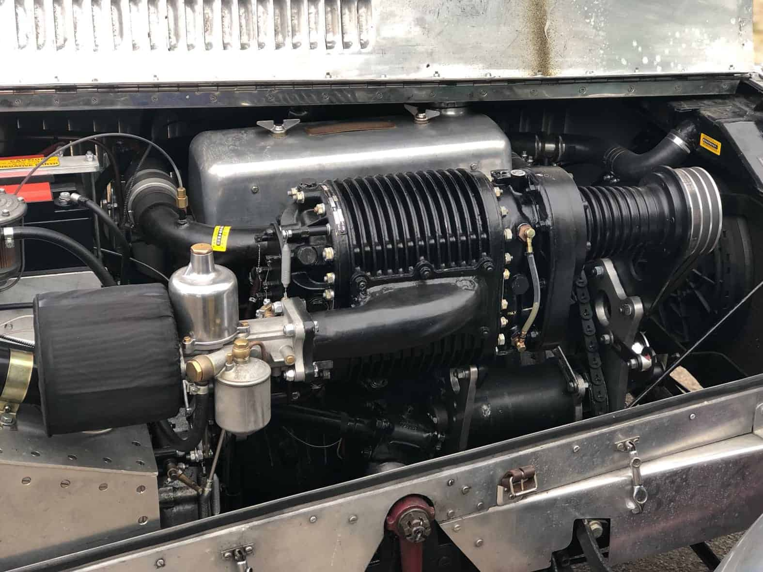 Austin Harley Saloon engine