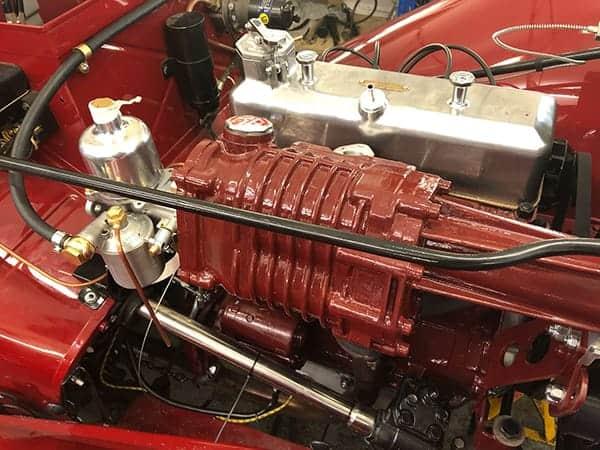 Supercharged MG TC