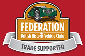 federation british historic vehicle club logo