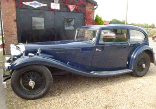 Blue Alvis Speed 20