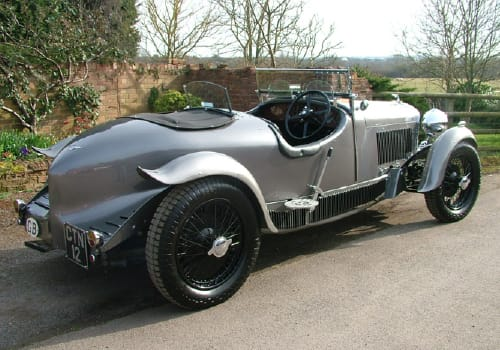 Silver Derby Bentley 3.5L