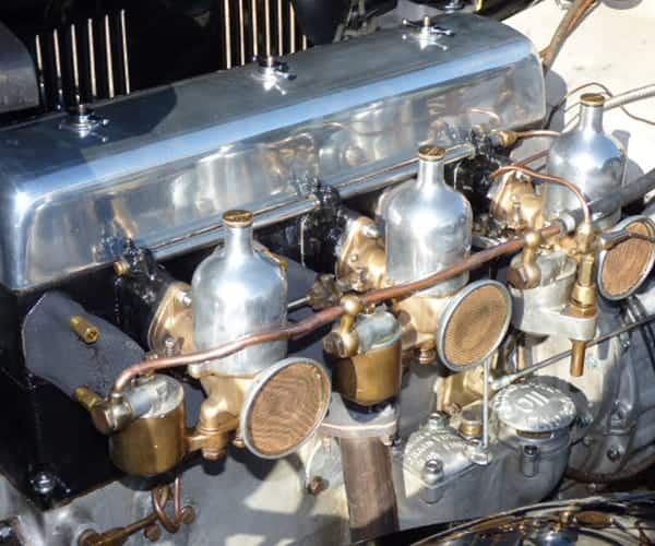 Alvis Speed 20 Engine