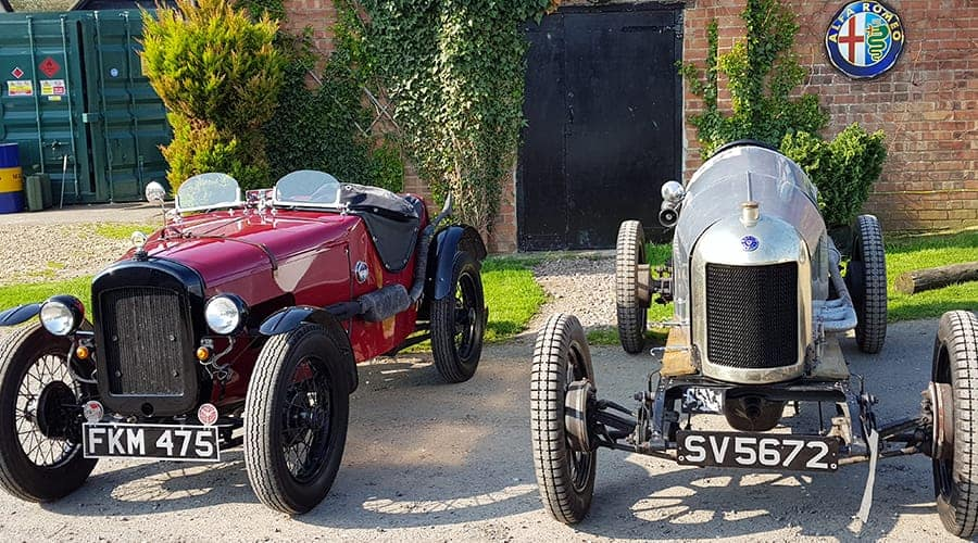 Austin 7 Ulster Replica and Supercharged Oxford Morris
