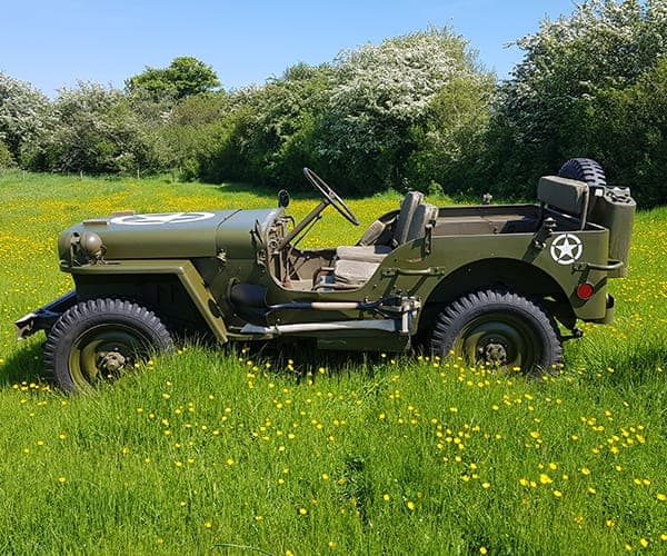 Hotchkiss Jeep in grass