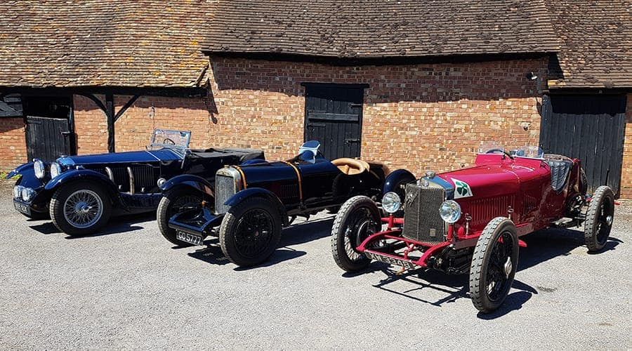 Invicta 4.5ltr, Alvis 12-50 & Alfa Romeo RL TF