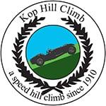 Kop Hill Climb Logo, Buckinghamshire