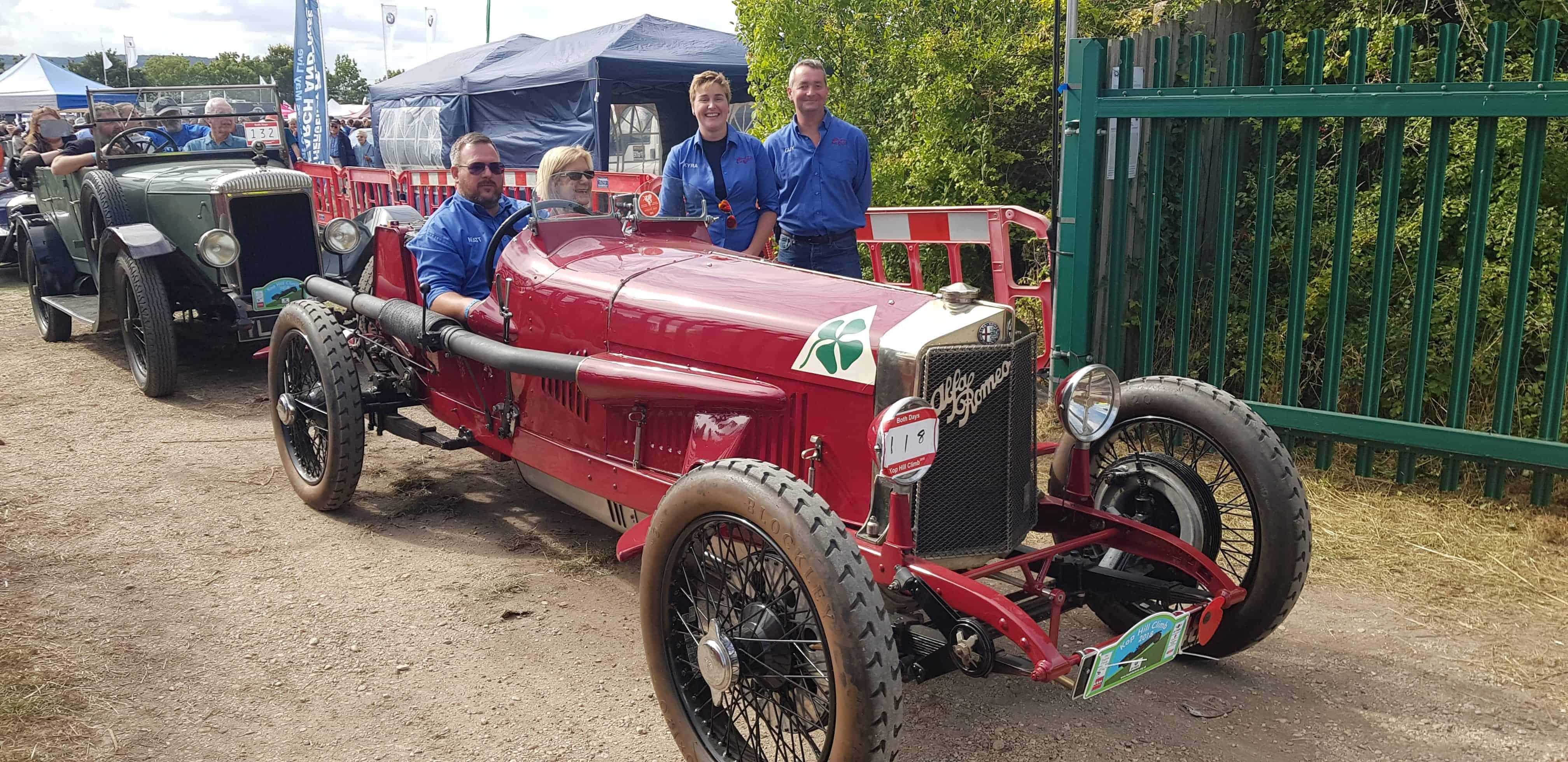 Kop Hill Climb, 1924 Alfa Romeo RL Targa Florio