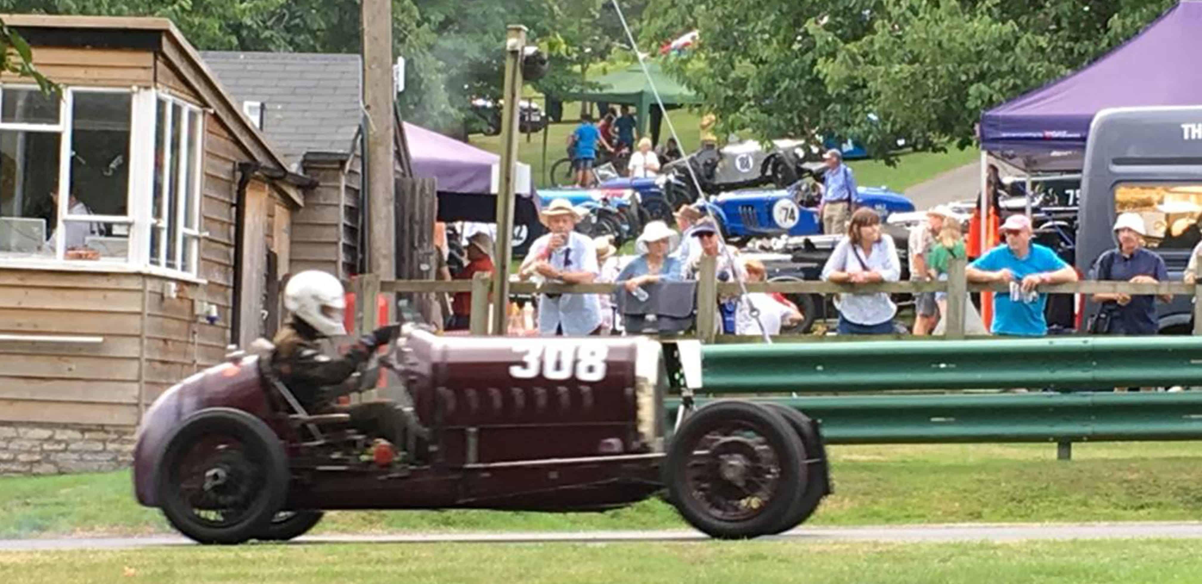 Prescott racing car
