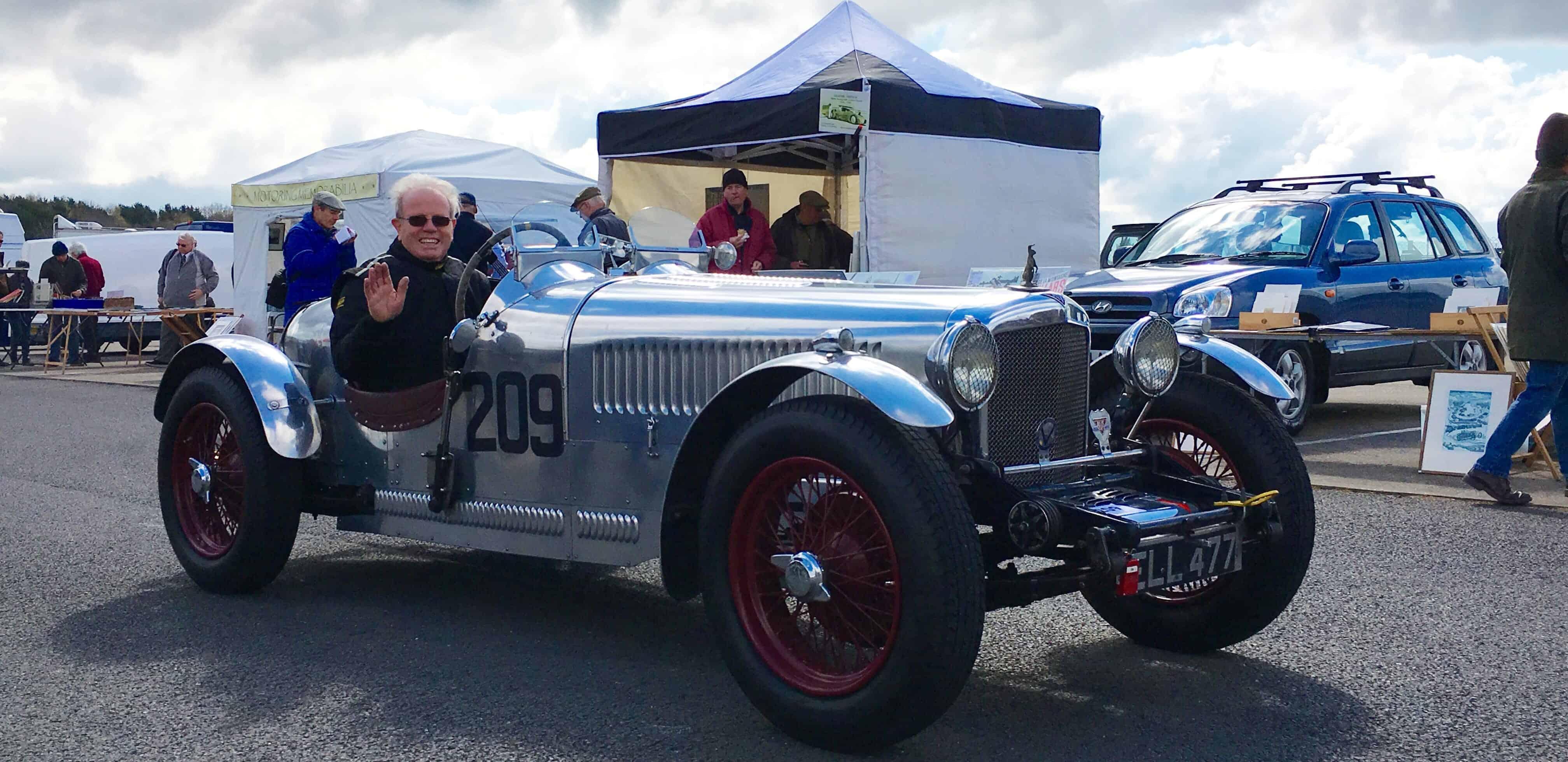 Ian Fyfe Silverstone Alvis 12 70