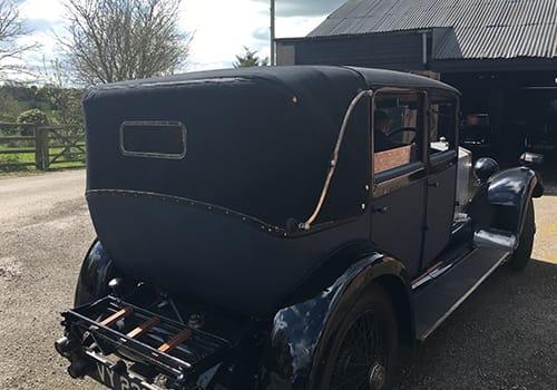 Vintage Rolls Royce, Patrick Clancy